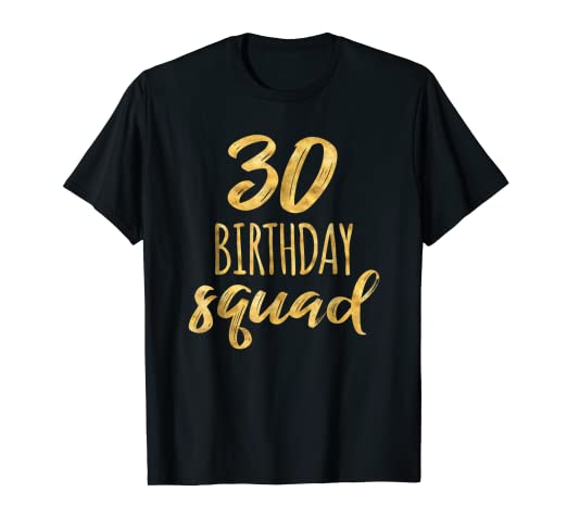 Amazon 30th Birthday Shirt For Group 30 Squad Tee