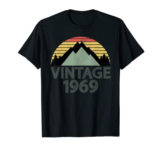 Amazon 50 Years Old 50th Vintage 1969 Birthday T Shirt Men