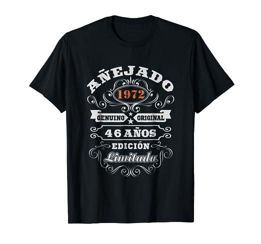 Amazon.com: Camiseta Cumpleanos 46 T-Shirt 1972 46 Anos ...