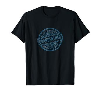 Certified Grandfather Shirt Gift