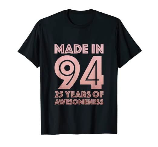 Image Unavailable Not Available For Color 25th Birthday Shirt Women Gifts 25 Year Old Daughter Sister