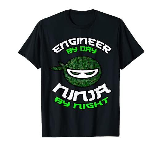 Amazon.com: Engineer by Day Ninja By Night, Programmer Coder ...