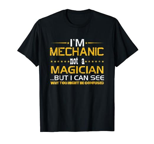 Mechanic Quotes Extraordinary Amazon Funny Mechanic Quotes Gift T Shirt Mechanic Not
