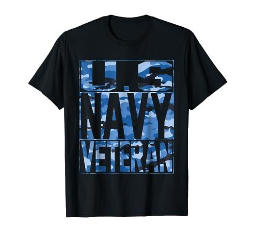 814d15a8 Amazon.com: Navy Camo Shirt - US Navy Veteran Camo T Shirt: Clothing