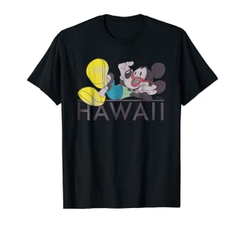 c199cdd8 Image Unavailable. Image not available for. Color: Disney Cool Mickey Mouse  Shades Hawaii T-shirt