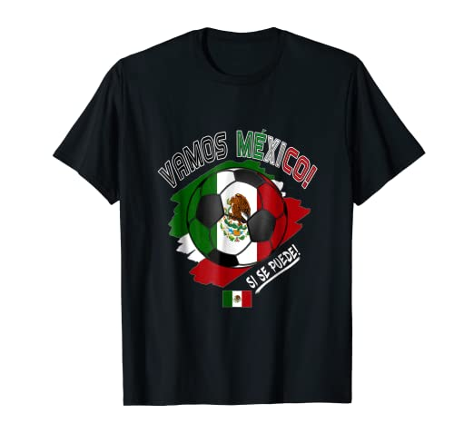 Mexico Mexican Soccer Team 2018 T Shirt Football Fan