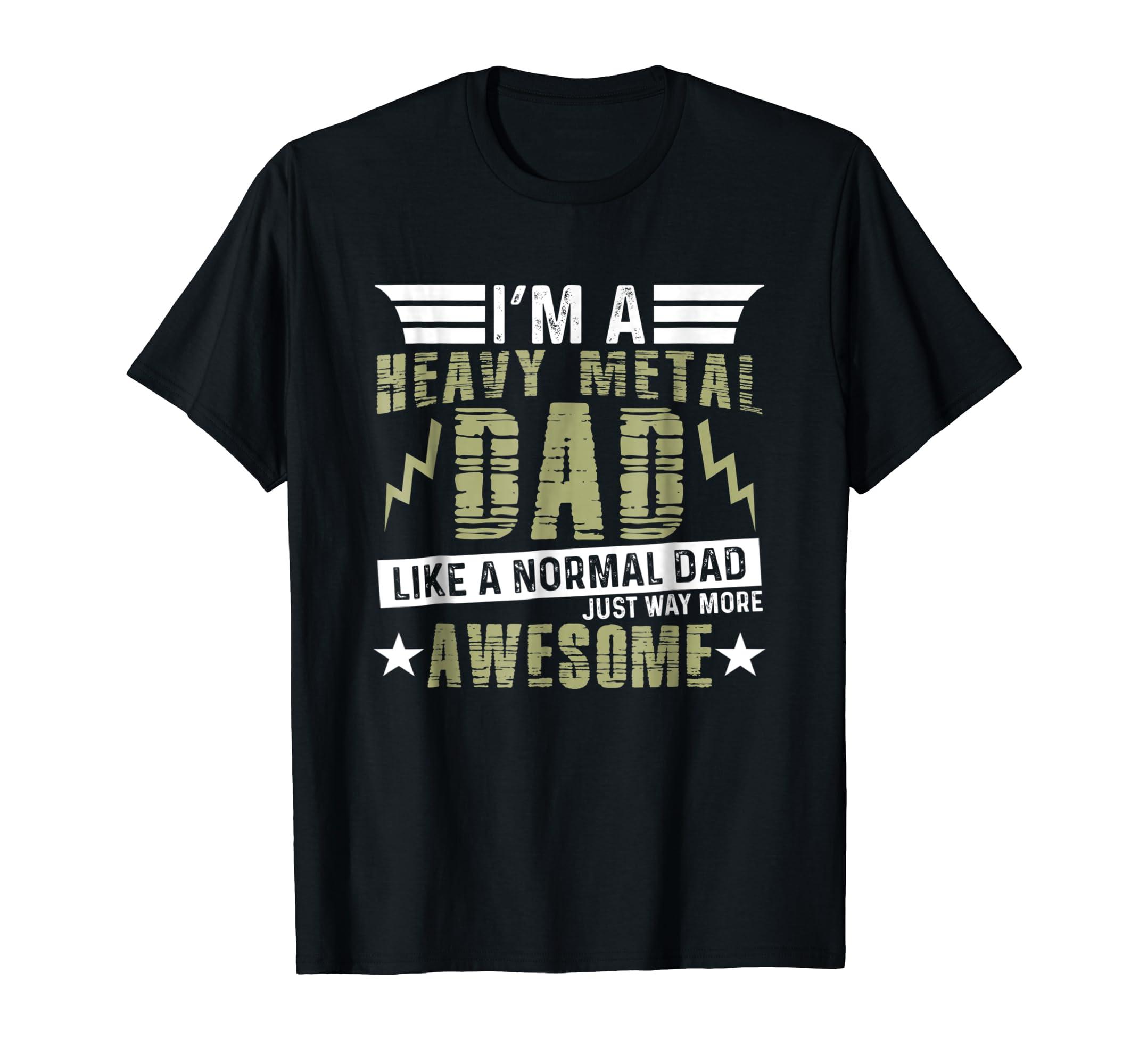 bc474546 Heavy Metal Dad Best Dad Ever Shirt Daddy Metal Father Gift Hoodie  Sweatshirt - Depotees