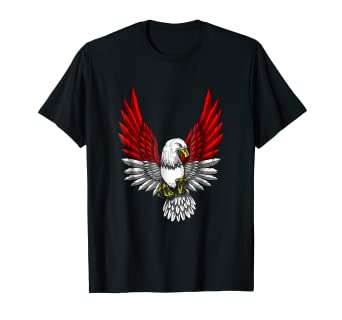 Amazon.com  Indonesia Flag Shirt Indonesian Flag Eagle  Clothing 74c135f432