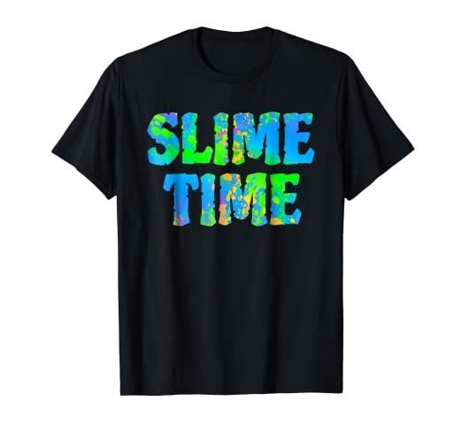 158646c35 Image Unavailable. Image not available for. Color: Slime Time T Shirt ...