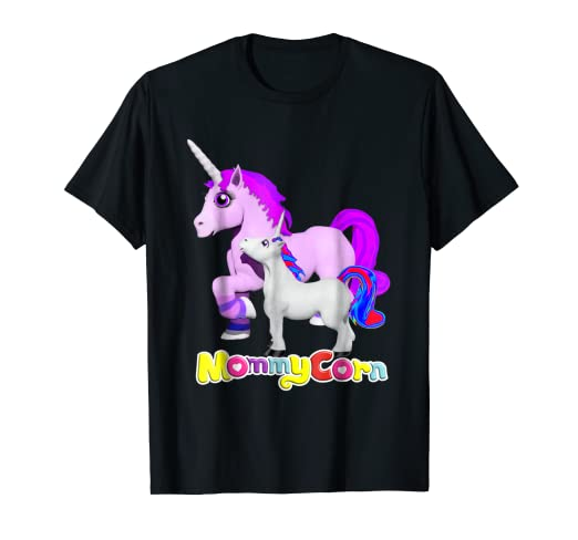 8d571672 Image Unavailable. Image not available for. Color: Mommycorn Unicorn Mom  And Baby Mothers Day T-Shirt
