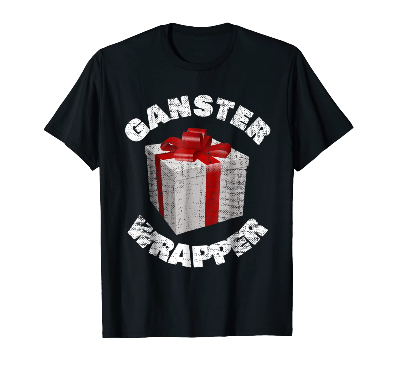 4023548a Amazon.com: Gangster Wrapper Funny Christmas Holiday Gift Wrap T Shirt:  Clothing