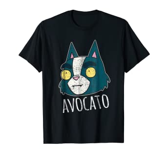 f0413649903 Image Unavailable. Image not available for. Color  Final Space Avocato  Distressed Design T-Shirt