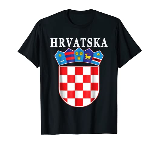 131ab973879 Image Unavailable. Image not available for. Color: Croatia National Pride Hrvatska  T-shirt
