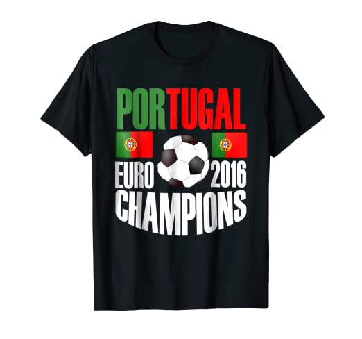 f0c9b836d Image Unavailable. Image not available for. Color  Storecastle  Portugal Soccer  Jersey Euro Champions T-Shirt