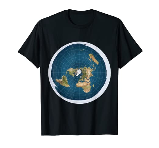 b960732e6919d Amazon.com  Flat Earth T-Shirt  Clothing