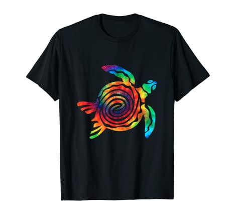 834b58c8984faa Image Unavailable. Image not available for. Color  Tie Dye Turtle Ocean  Animals Tie Dyed T Shirt