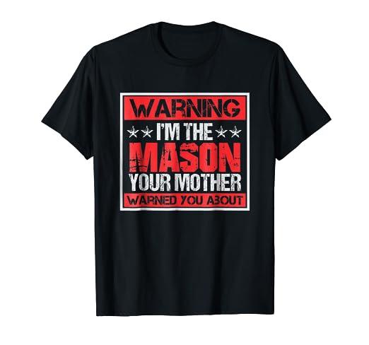 Amazon com: I'm Mason T-shirt | Masonic or Freemasonry Shirt
