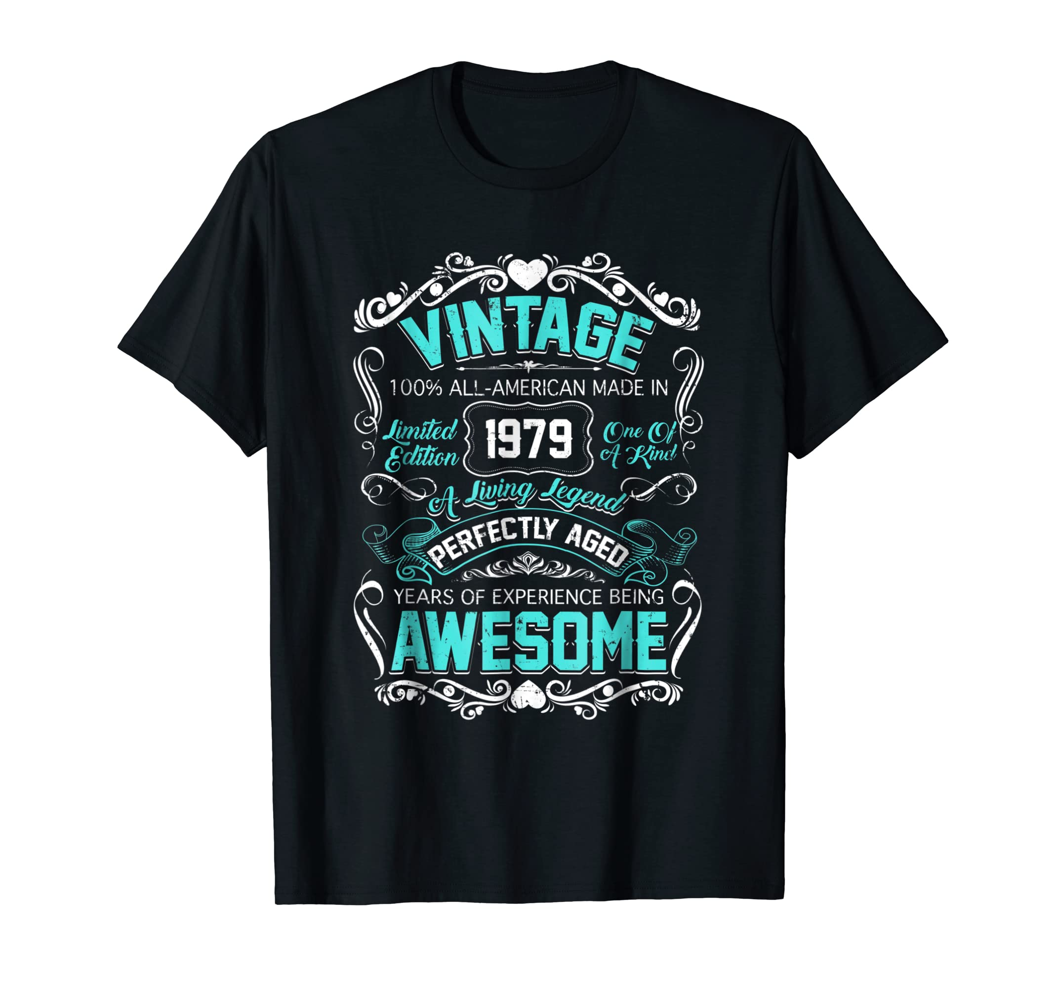 Amazon 1979 Vintage Shirt Awesome 39 Years Old Birthday Tshirt Clothing