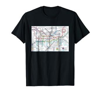 London England Subway Map.Amazon Com London Subway Map England T Shirt Clothing