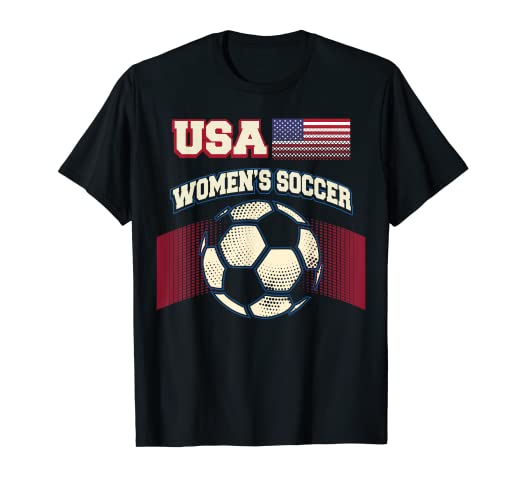b5acb0c9203 Image Unavailable. Image not available for. Color  Soccer Women s Team shirt  USA