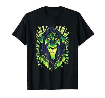 53951d1d80f1 Image Unavailable. Image not available for. Color: Disney Lion King Evil  Scar Graphic T-Shirt