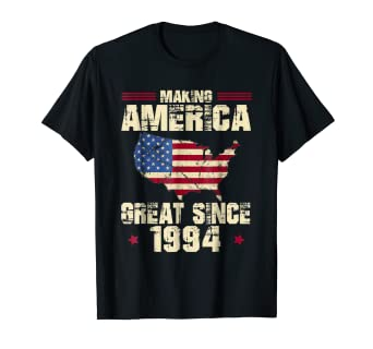 Amazon 25th Birthday Gift Fun Making America Great Since 1994