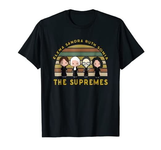 c2c55ad03b5a Image Unavailable. Image not available for. Color: Elena Sandra Ruth Sonia The  Supremes T-shirt