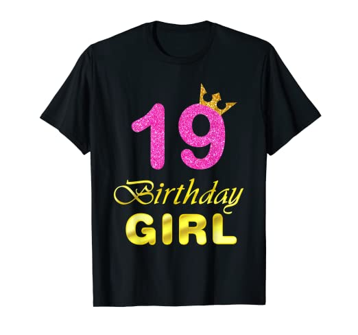 Image Unavailable Not Available For Color 19th Birthday Girl