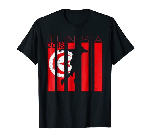 finest selection 46b73 f4522 Amazon.com: Tunisia Football 2018 Jersey Tunisian Soccer T ...