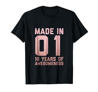 18th Birthday Shirt Gift Girls Eighteen 18 Year Old Niece