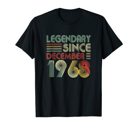 Image Unavailable Not Available For Color December 1968 T Shirt 50 Years Old 50th Birthday Decorations