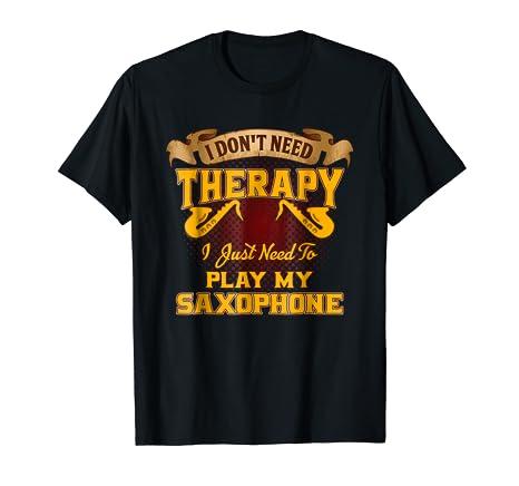 Image Unavailable. Image not available for. Color  Saxophone Saxophonist -  Men Women T Shirt 6bd6e8e64bae
