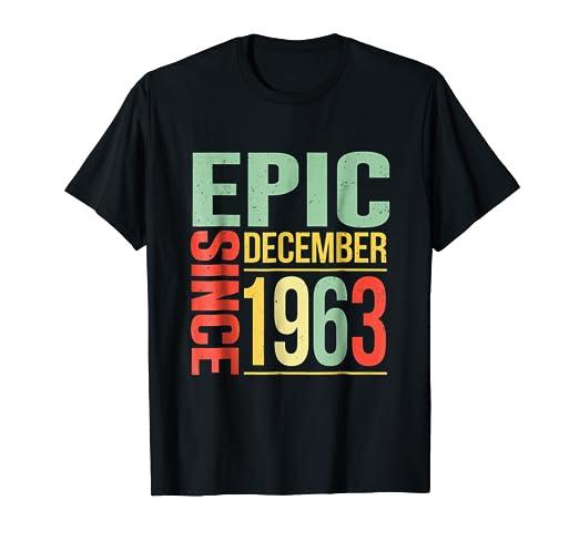 Amazon December 1963 Shirt 55 Year 55th Birthday