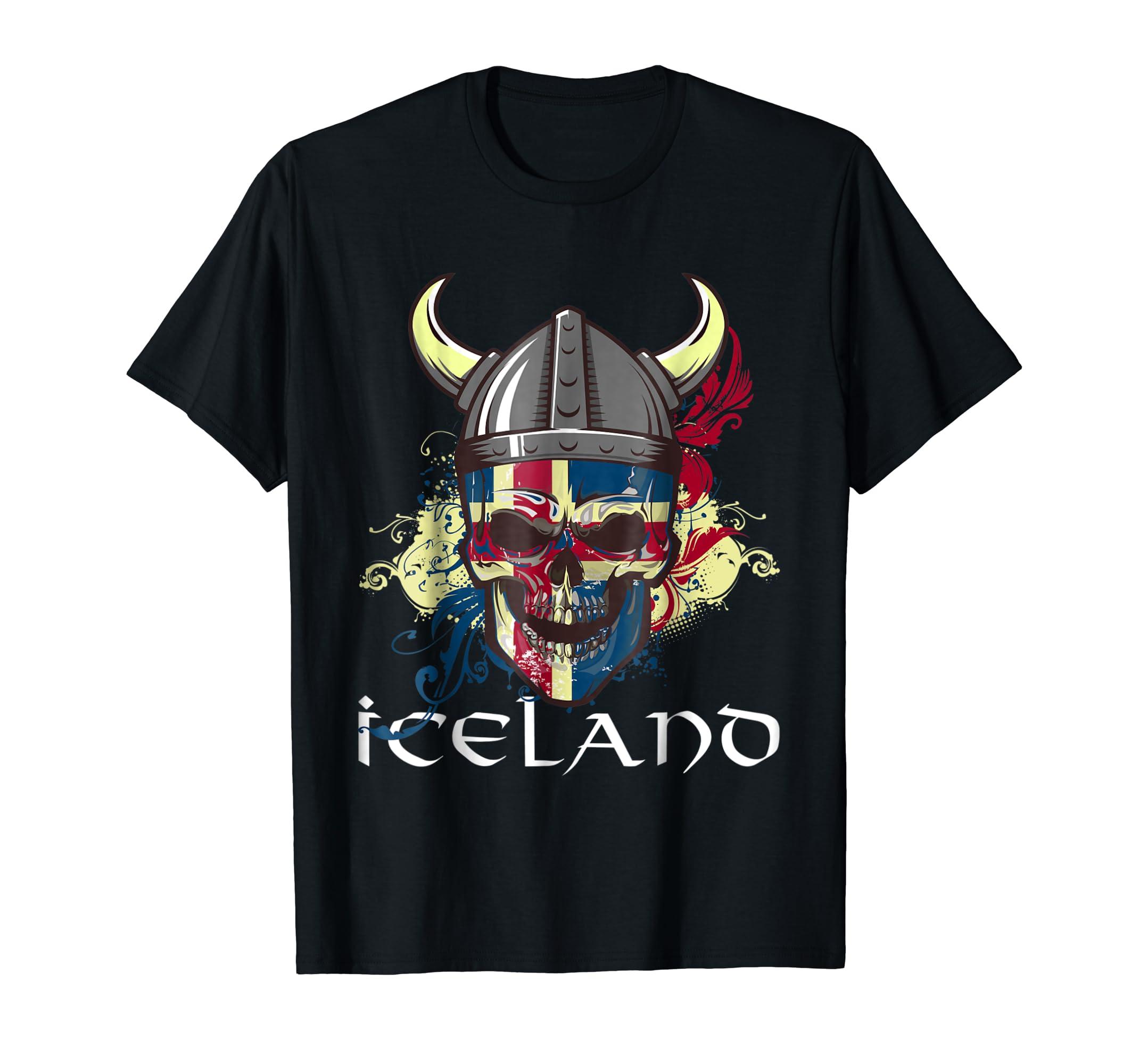 Iceland Soccer T-Shirt 92889604b