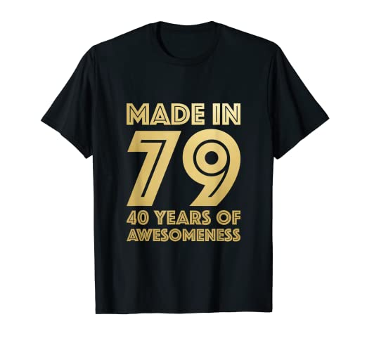Amazon 40th Birthday Shirt Men Women Age 40 Sister Brother