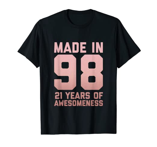 Image Unavailable Not Available For Color 21st Birthday Shirt Women Gift Girls Age 21 Year Old Niece