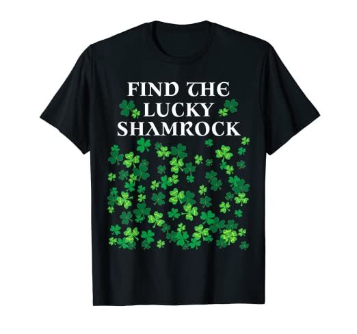 ba2534912c Image Unavailable. Image not available for. Color: Funny game st Patrick's  day shirt lucky shamrock t-shirt
