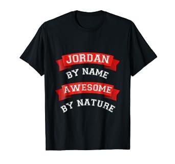 Awesome Jordan Gift T Shirt Birthday TShirt