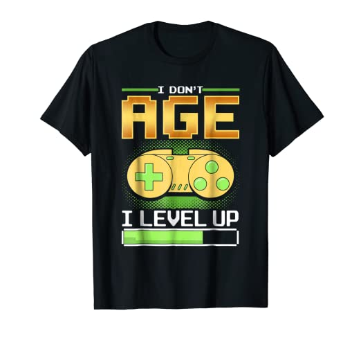 Amazon Funny Level Up Birthday T Shirt Gift For Gamer Boyfriend