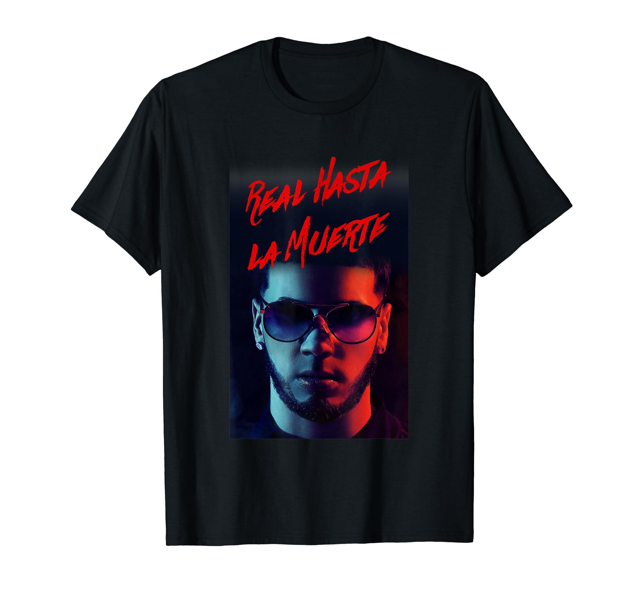 d7cf5af812443 Amazon.com  Real hasta la muerte T-Shirt  Clothing
