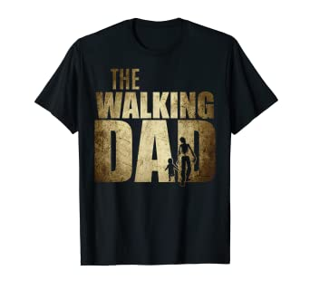 d77f9d892 Image Unavailable. Image not available for. Color: Walking Dad Shirt Funny  Father's ...