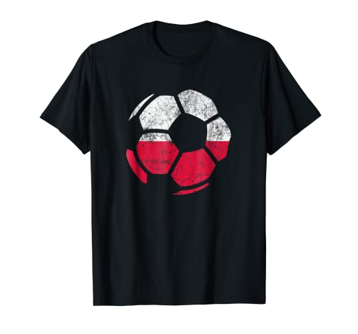 Image Unavailable. Image not available for. Color  Poland Soccer Shirt  Polish Football Flag Men Women Kids dcb203e71a