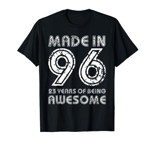 Amazon Vintage 23rd Birthday Shirt Fun 23 Years Old Bday Gift
