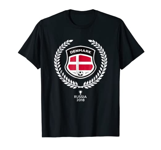93831c3581c Image Unavailable. Image not available for. Color  Denmark Soccer Jersey  Russia 2018 Football Team Fan Shirt