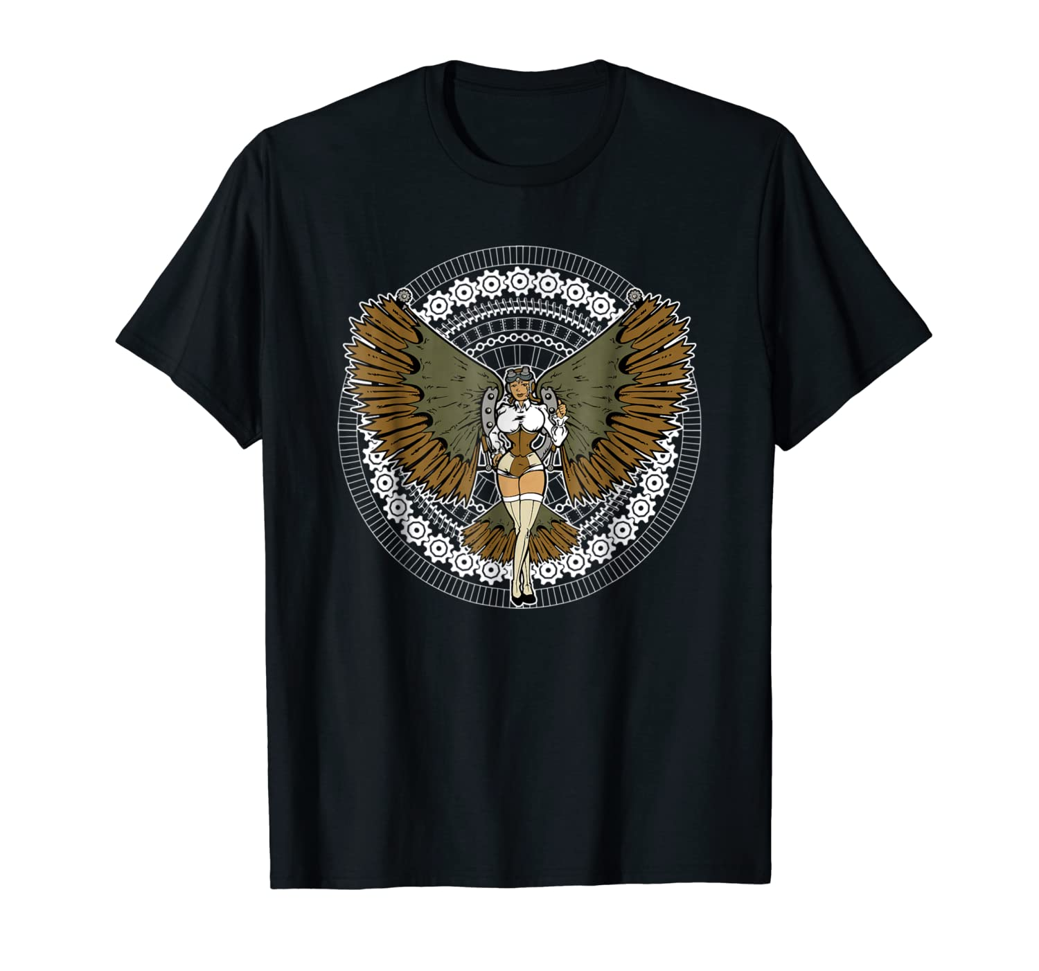 Steampunk Woman Shirt
