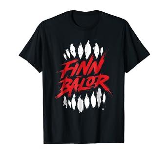 amazon com wwe finn balor ripping teeth graphic t shirt clothing