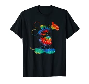 16c0aedb Image Unavailable. Image not available for. Color: Disney Mickey Mouse Tie  Dye T-Shirt