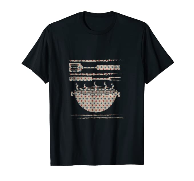 USA National Holiday Grill Tools Shirt for 4th of July BBQs