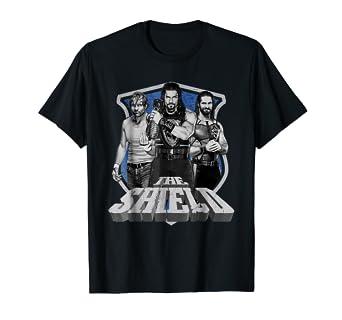 6609c052702d Amazon.com: WWE The Shield Graphic T-Shirt: Clothing