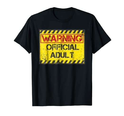 Warning Official Adult Shirt